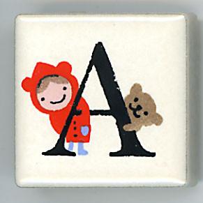 Shinzi Katoh シンジカトウ ピチタイル A アルファベット