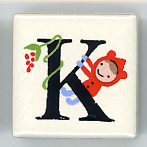 Shinzi Katoh シンジカトウ ピチタイル K アルファベット