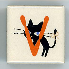 Shinzi Katoh シンジカトウ ピチタイル猫 ねこ V