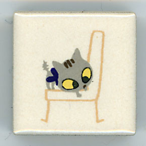 Shinzi Katoh シンジカトウ ピチタイル猫 ねこ イラスト3