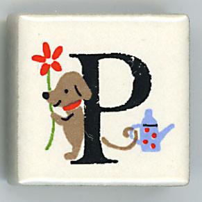 Shinzi Katoh シンジカトウ ピチタイル P アルファベット