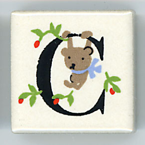 Shinzi Katoh シンジカトウ ピチタイル C アルファベット