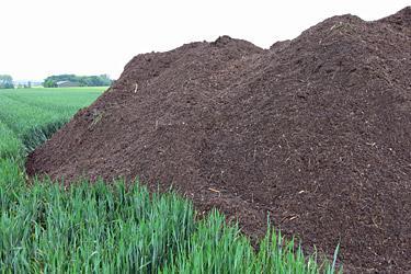 Kompost ist die wohl nachhaltigste Art zu düngen und bei uns ein wichtiger Bestandteil unserer Düngestrategie