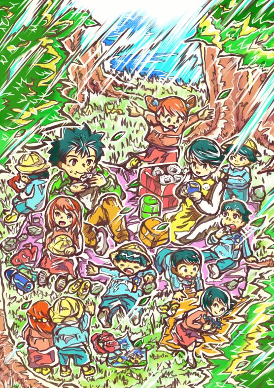 ピクニック(漫画・保育士さんは大変っス!!より)