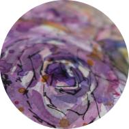 Inspiration - Rosen in Aquarell - DIY