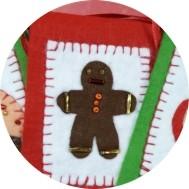Weihnachten - Geschenkanhähger aus Filz basteln - DIY-Projekt