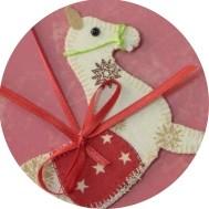 Weihnachten - Weihnachtsdekoration aus Stoff nähen - DIY-Projekt