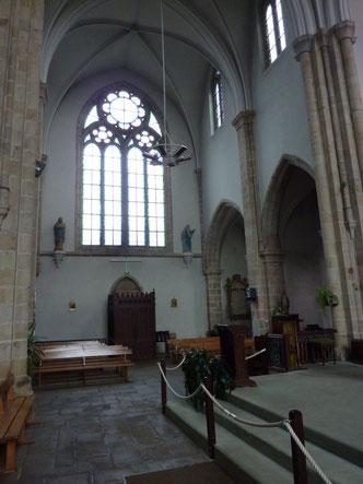 Le transept nord