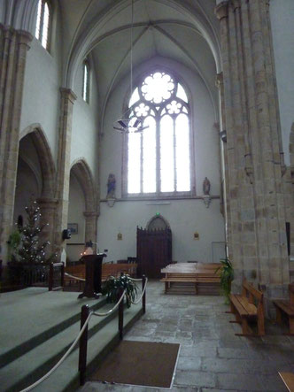 Le transept sud