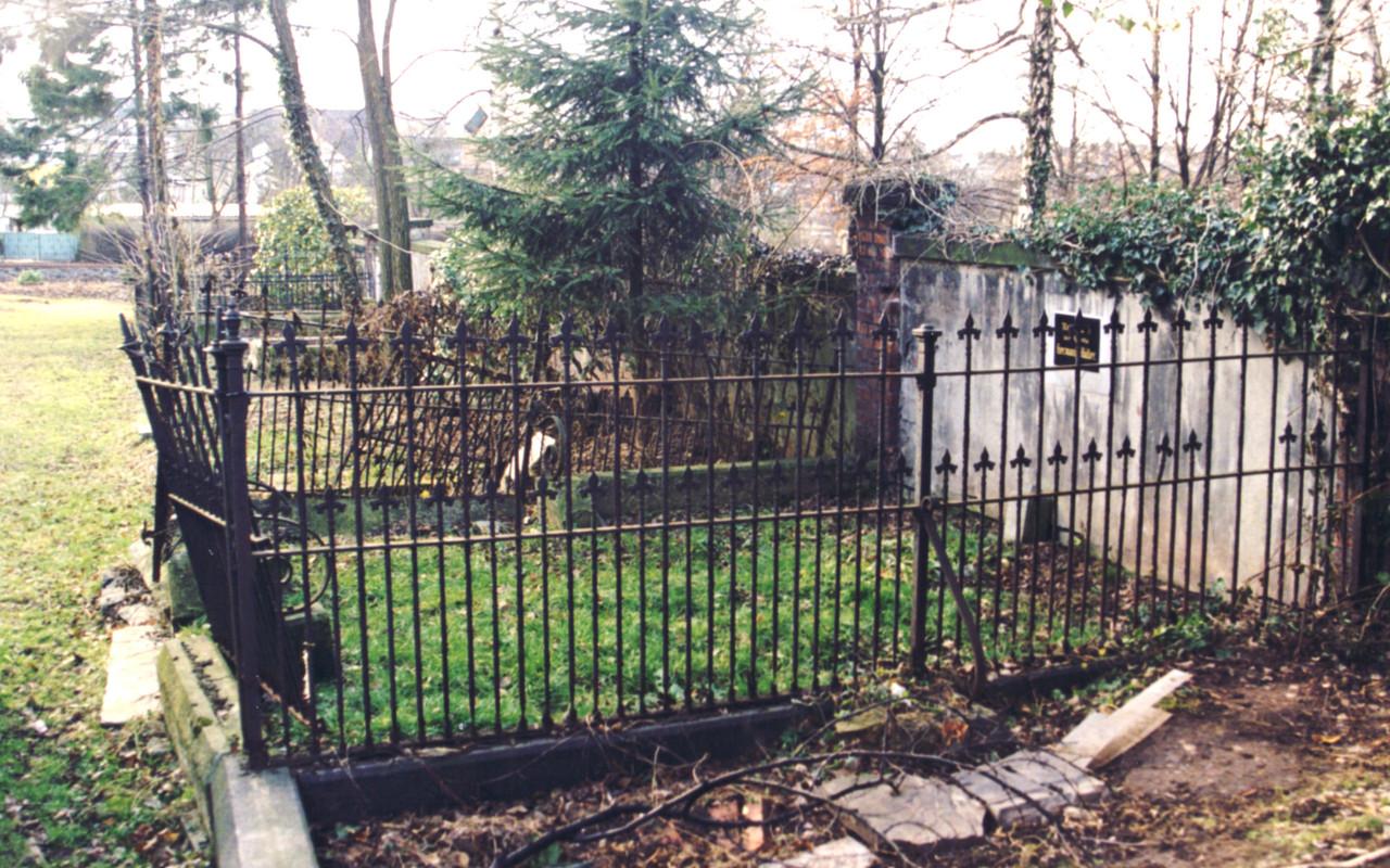 alte Wandstellen in Abteilung C 2, 1998