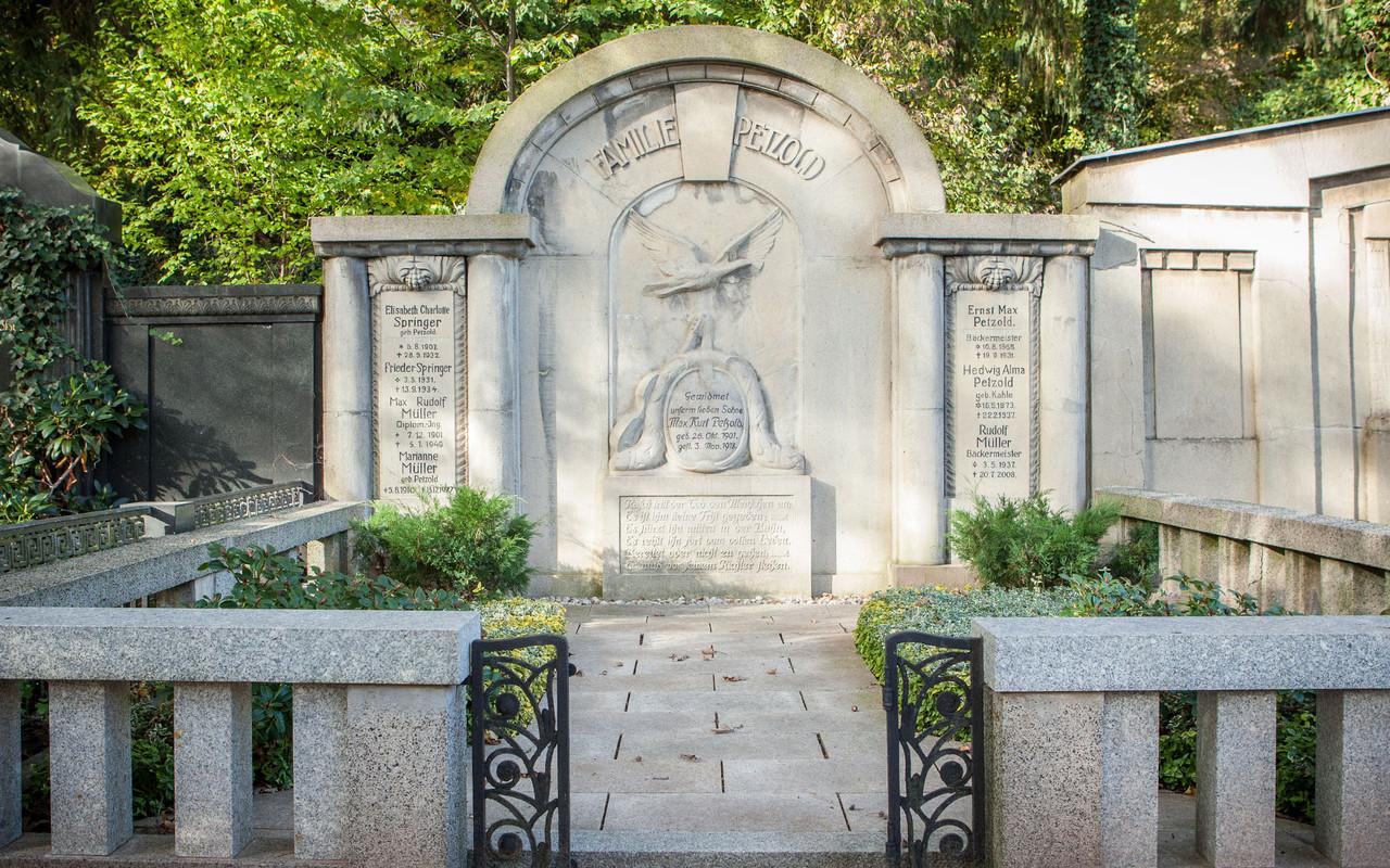 Friedhof Planitz | Erbbegräbnis Familie Petzold