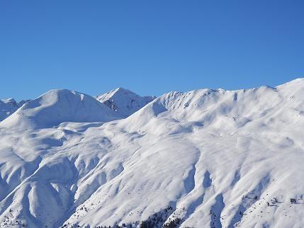 Lo sci d'alpinismo Vi garantisce un panorama splendido al Passo di Resia in Val Venosta - Trentino Alto Adige