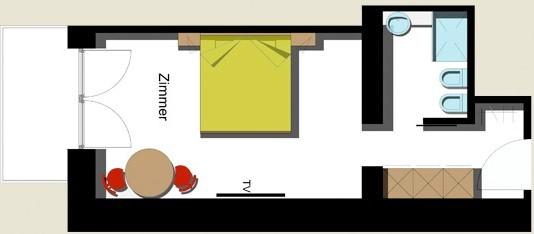 camera superior: confortevole, camera non fumatori. Per una vacanza non di transito