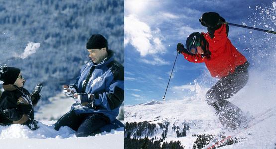 divertimento invernale garantito al passo di resia in alto adige - Val Venosta
