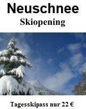 Skiopening, Winterstart & Saisonsauftakt am Reschenpass im Vinschgau in Südtirol