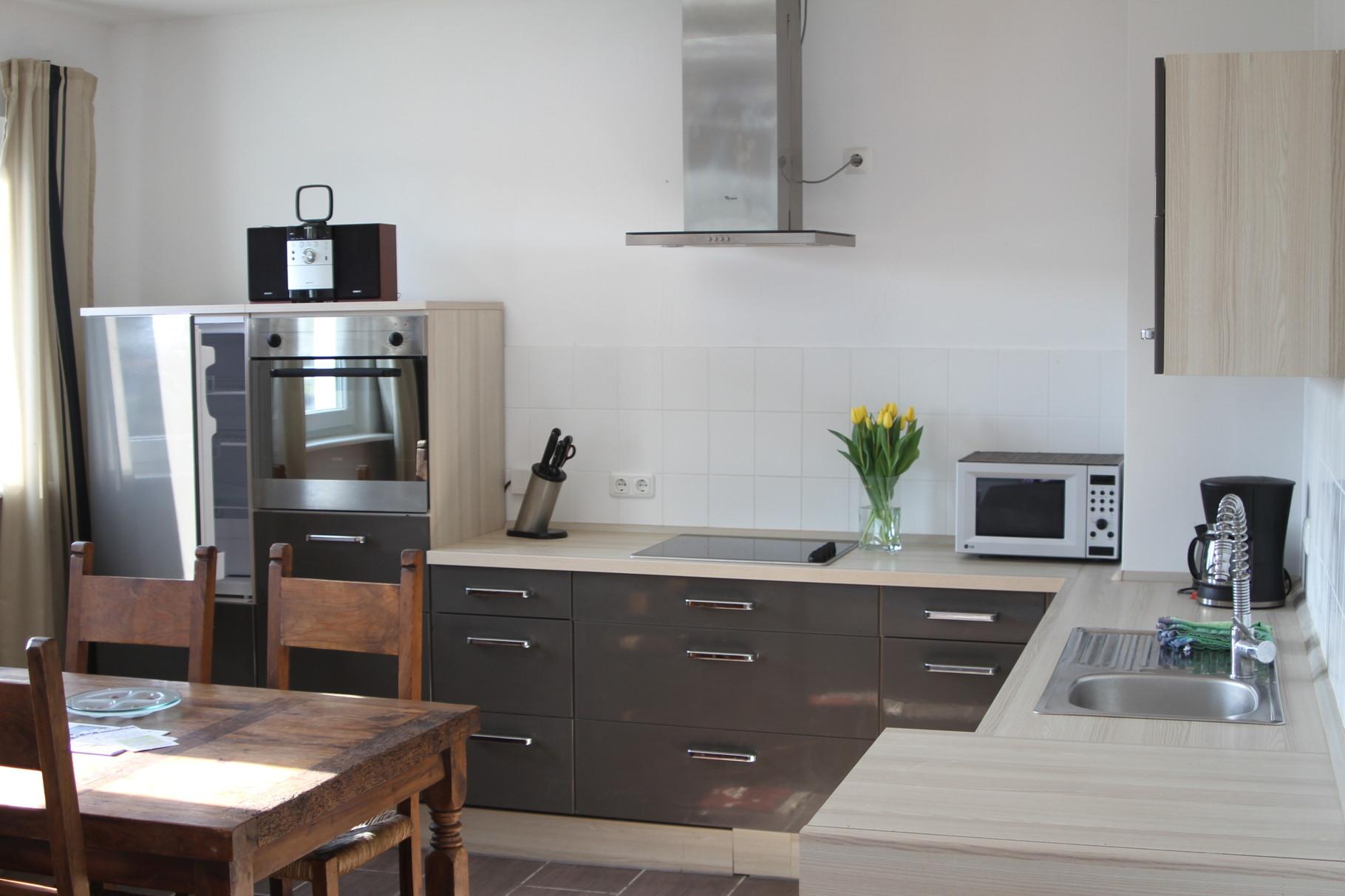 Wohnraum- Küche