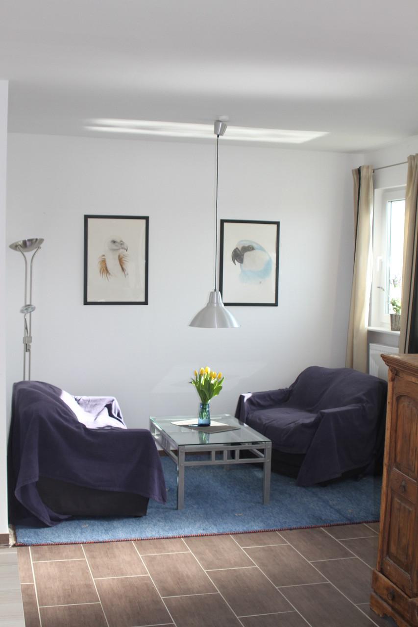 Wohnraum- Sitzecke