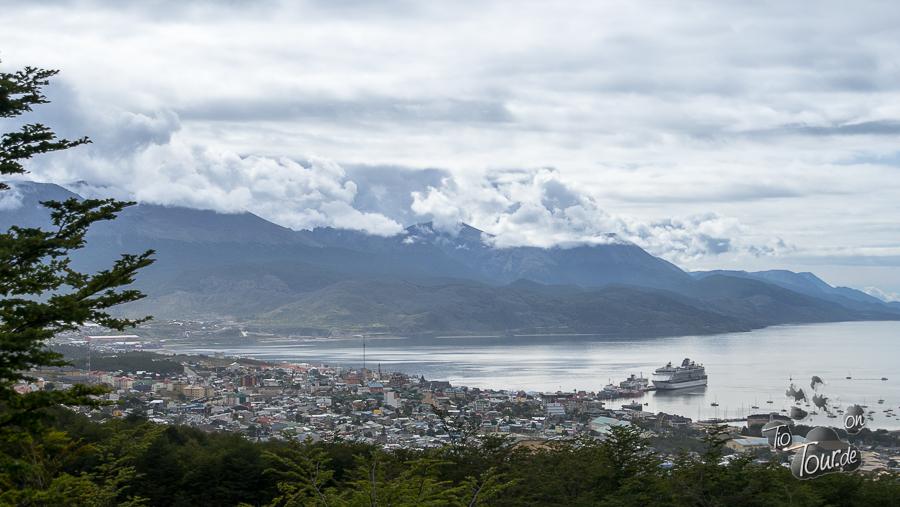 Ushuaia - Blick vom hauseigenen Gletscher