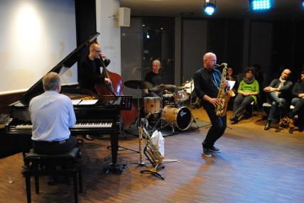 Andreas Hertel / Thomas Bachmann Quartett live Wiesbaden Mauritius-Mediathek