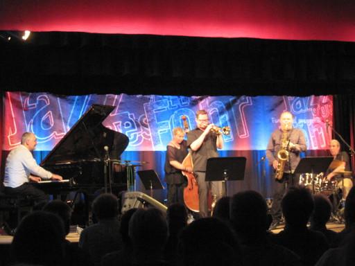 """mit Ingolf Burkhardt (tp) bei """"Jazz goes Föhr"""""""