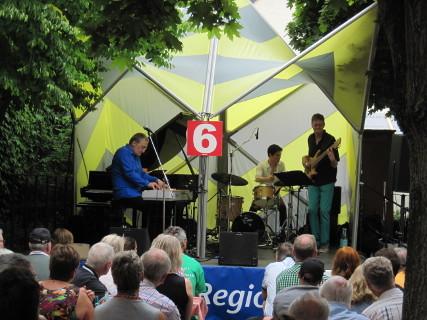 Groove Jazz Fanatics live beim Jazzfestival Idstein