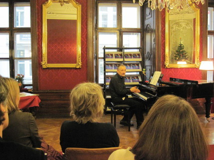 "Vorstellung ""Let's Play Jazz"" in Wien"