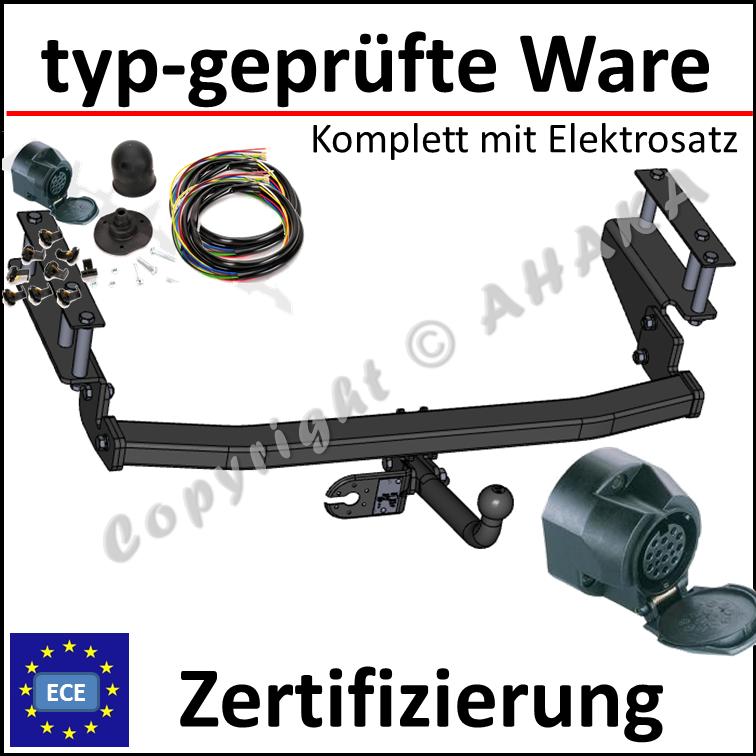AHK starr Für Opel ASTRA II G Kombi 1998-2004+E-SATZ 13polig FAHRZEUGSPEZIFISCH