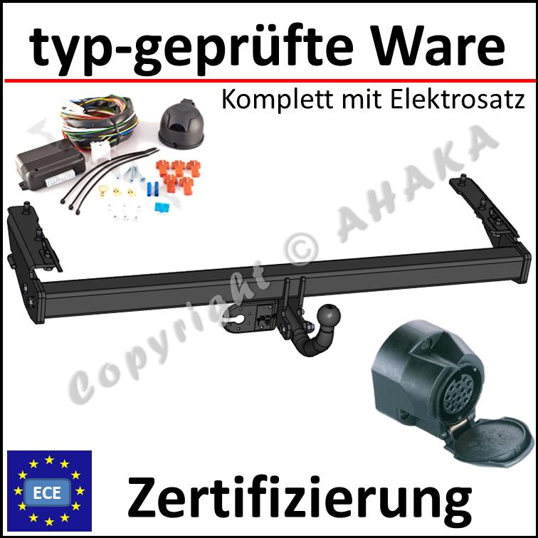 Anhängerkupplung abnehmbar Touran 1T1//1T2//1T3 E-Satz 13pol set top Auto Hak
