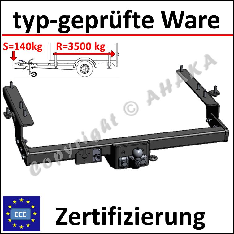 Für Audi 80 B4 4-Tür Limousine Anhängerkupplung starr+ES 13p ABE