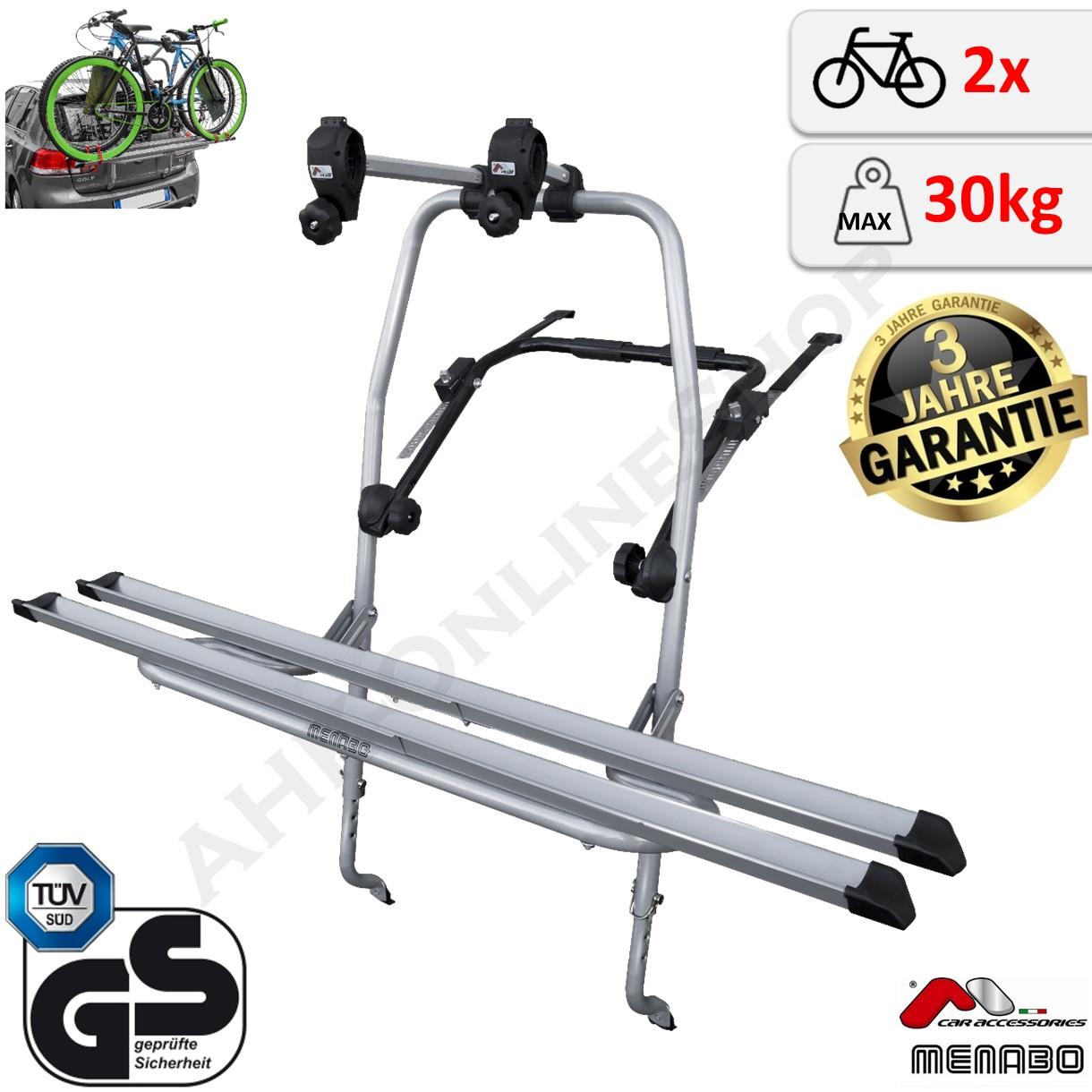 Heckträger Travel Fahrradträger kompatibel mit Citroen C2 03-09