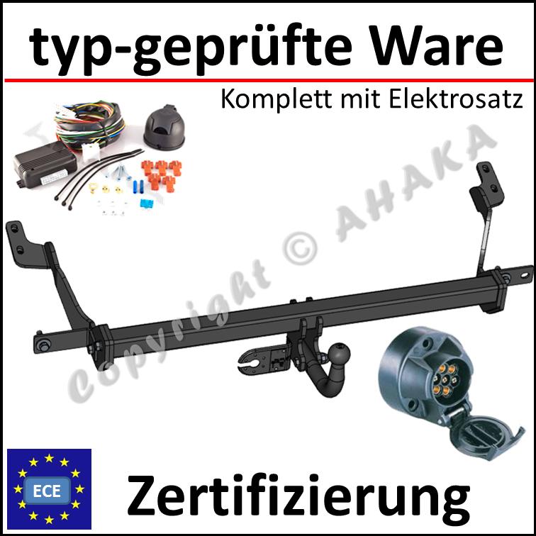 Anhängerkupplung EPH-Deaktivierung ES-13 Citroen Berlingo Typ L2 ab 2008 AHK