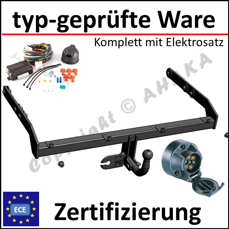 Anhängerkupplung AHK starr Für VW PASSAT B5 4-Tür 1996-2000 QUALITÄT