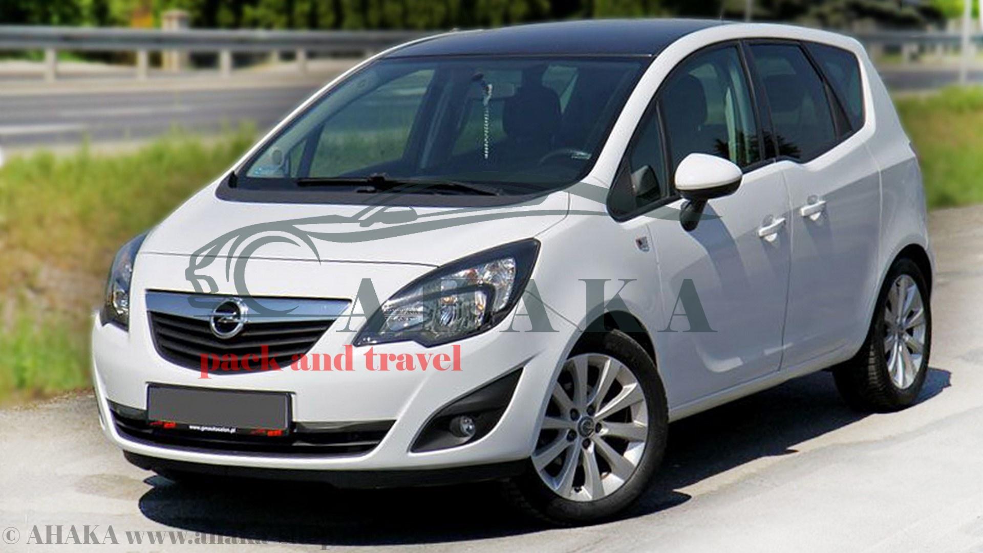 13polig E-Satz AHK Opel Meriva A 2003-2010 AUTO HAK Anhängerkupplung abnehmbar