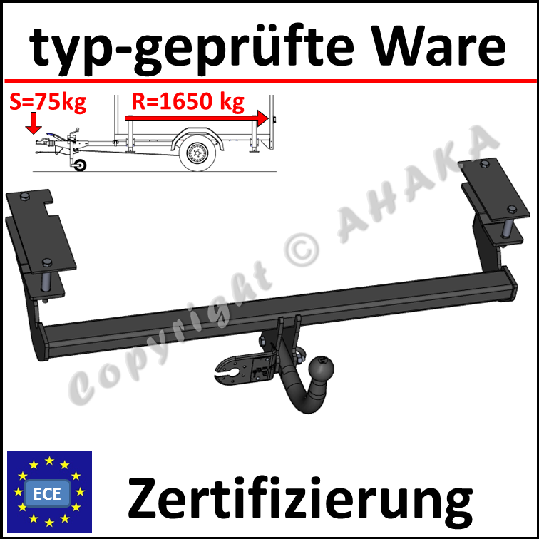 AHK Abnehmbare Anhängerkupplung 7p E-Satz Opel Astra H Kombi 04-10 28054/_DEA1