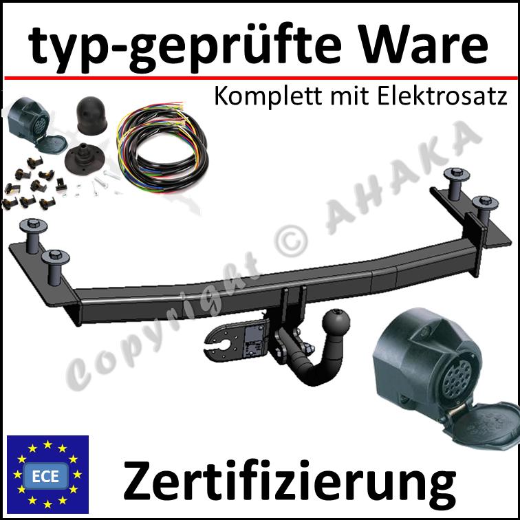 7-polig Elektrosatz Mercedes E-Klasse W211 2002-2009 Anhängerkupplung starr