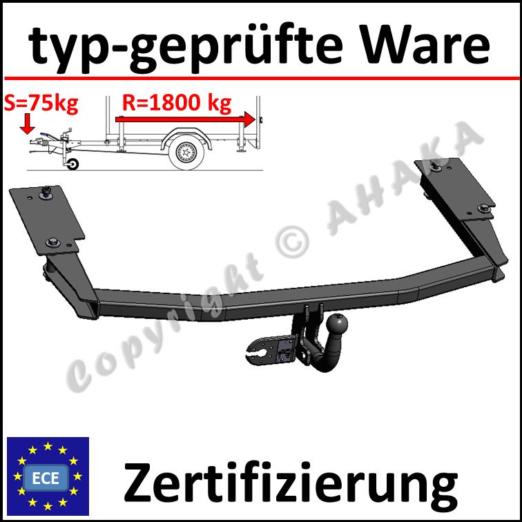 AHK /& ES13 Opel Corsa II B Hatchback Schrägheck 93-00 Anhängerkupplung komplett