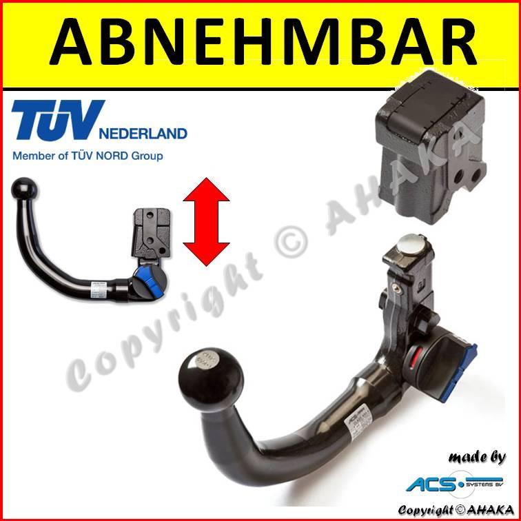 Für Audi A4 Avant 01-04 ANHÄNGERKUPPLUNG starr Neu 7pol universell E-Satz