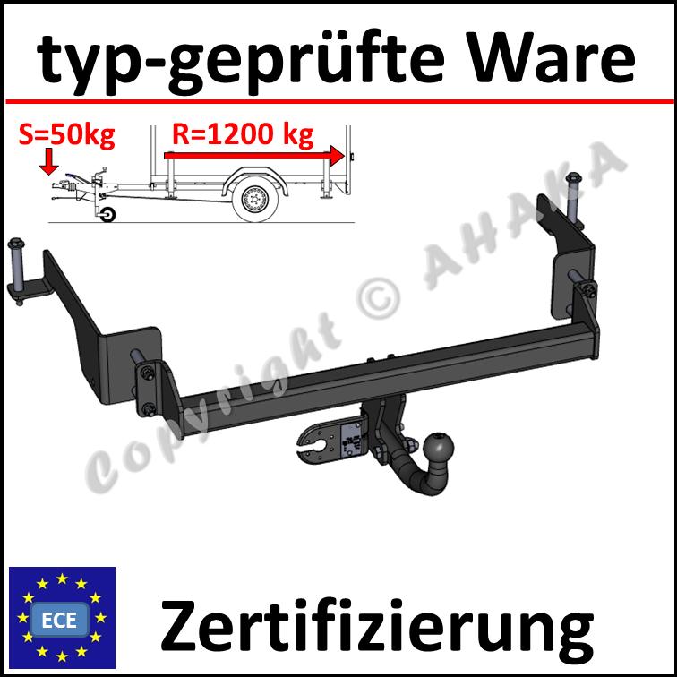 7p E-Satz mit Blinküberwachung AHK starr Für Opel Combo C 02//12