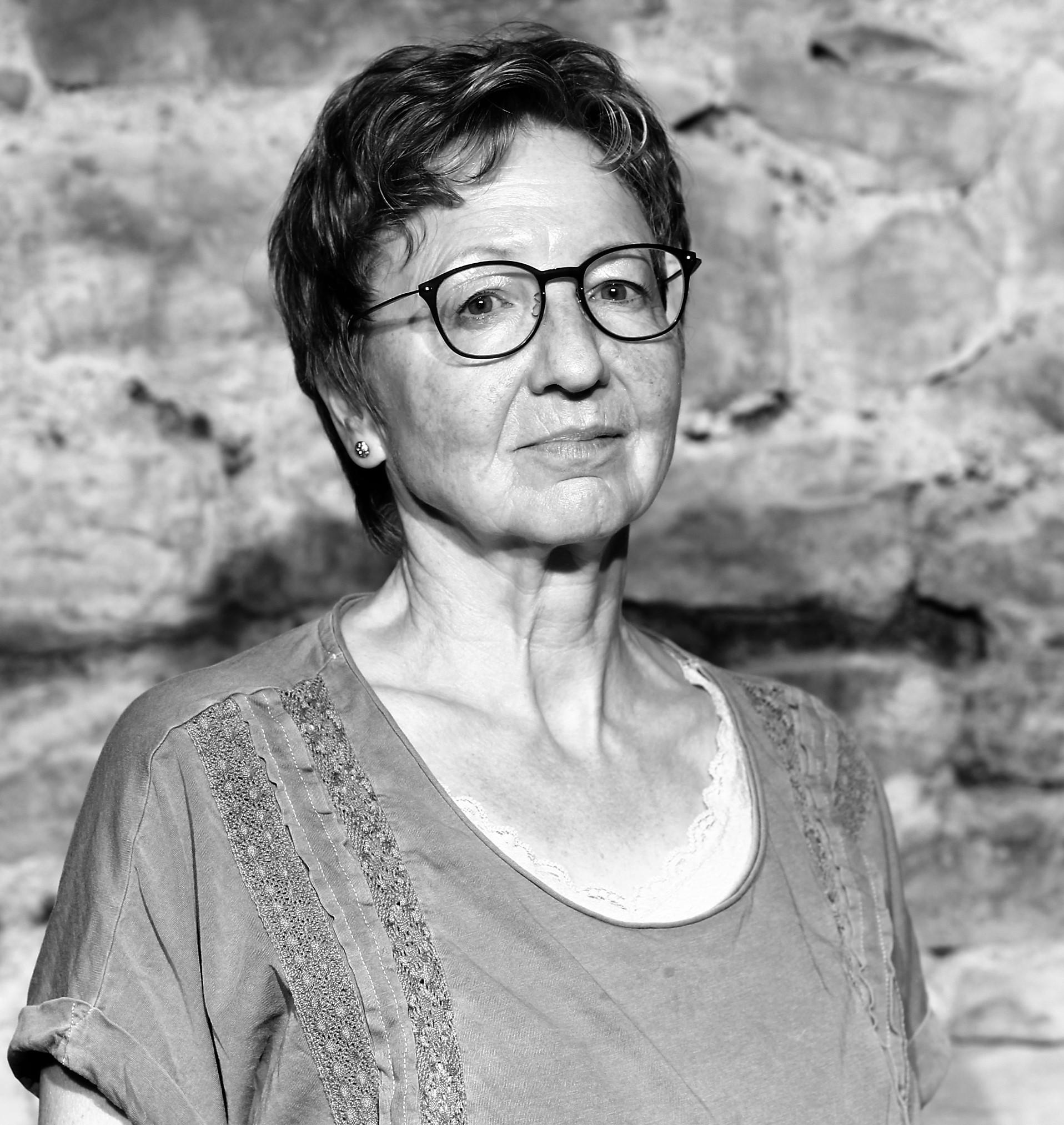 Sieglinde Ehinger als Reporterin