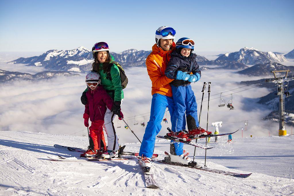 Skifahren für Familien