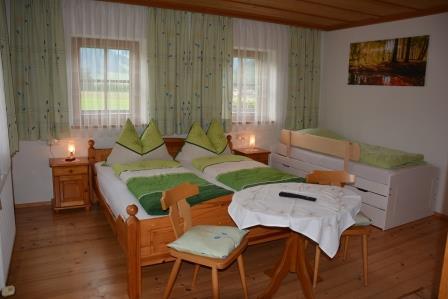 Schlafzimmer Whg. Bauernhaus