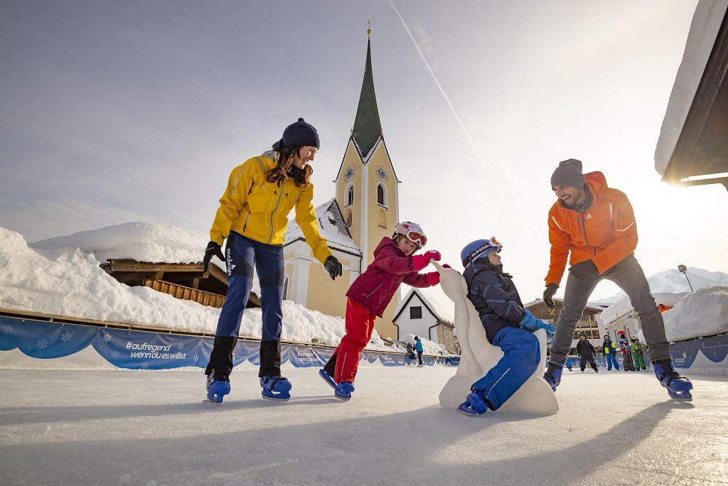 Eislaufplatz Kössen und Ebbs
