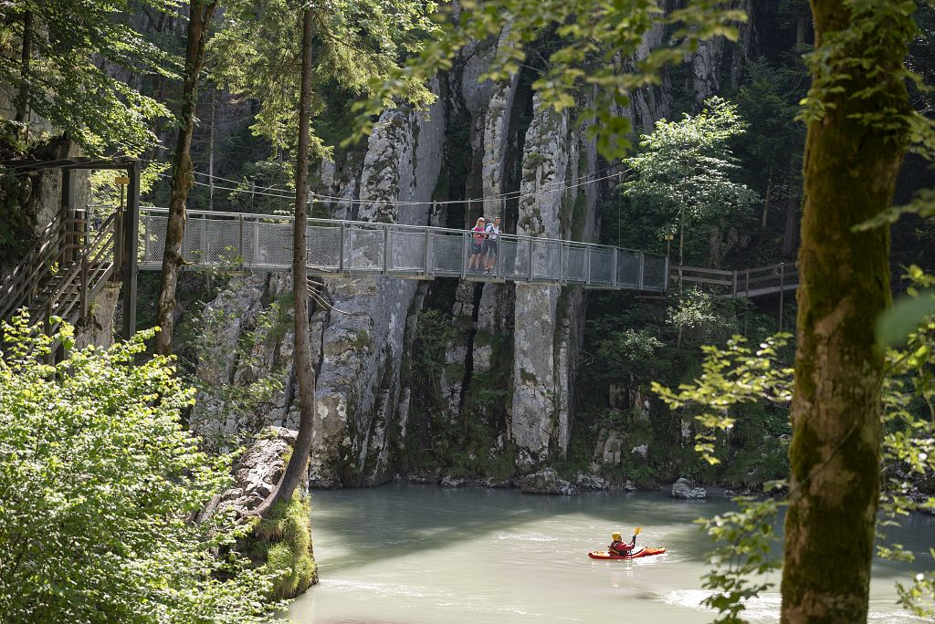 Hängebrücke Klobenstein