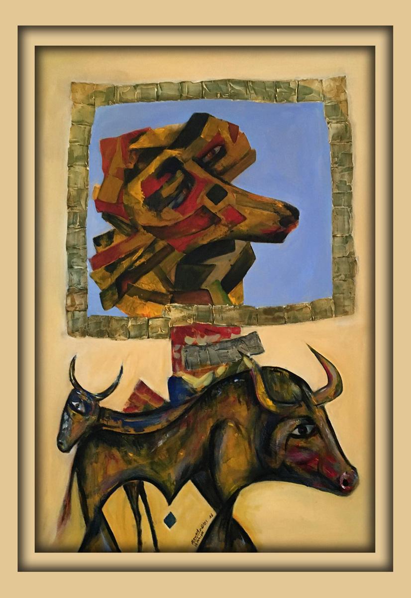 Aachener Kunstroute 2016, neue malerei, Acryl auf leinwand, Ibrahim Alawad 2