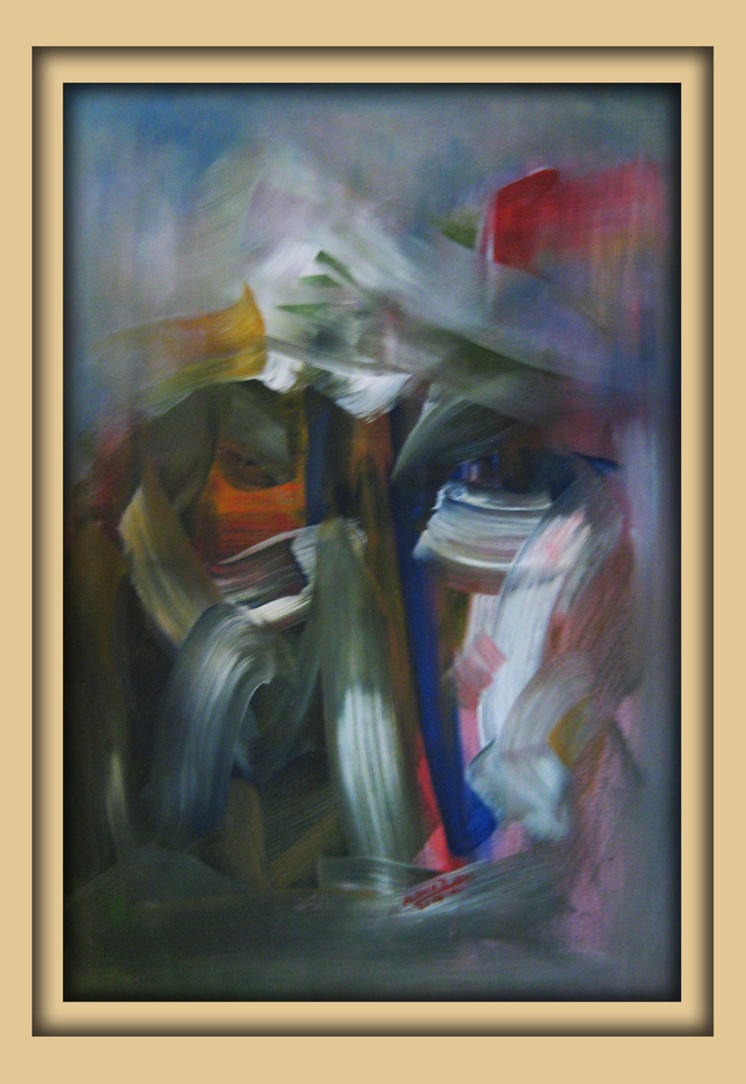 Aachener Kunstroute 2016, neue malerei, Acryl auf leinwand, Ibrahim Alawad 9