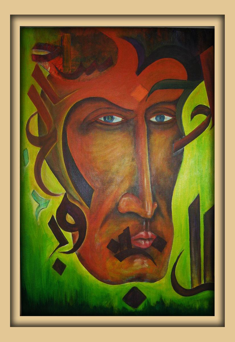 Aachener Kunstroute 2016, neue malerei, Acryl auf leinwand, Ibrahim Alawad 8