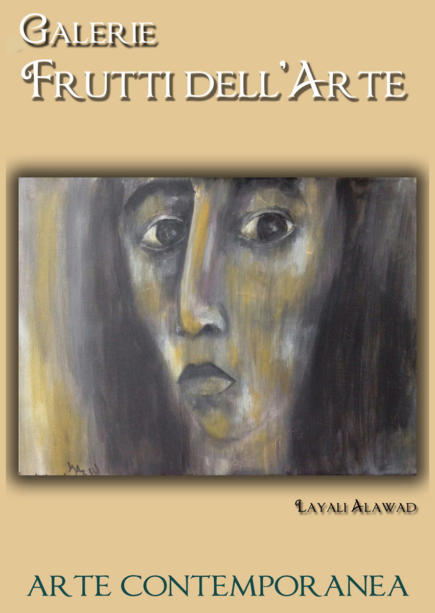 Plakat eins, Layali Alawad auf der Aachener Kunstroute 2016