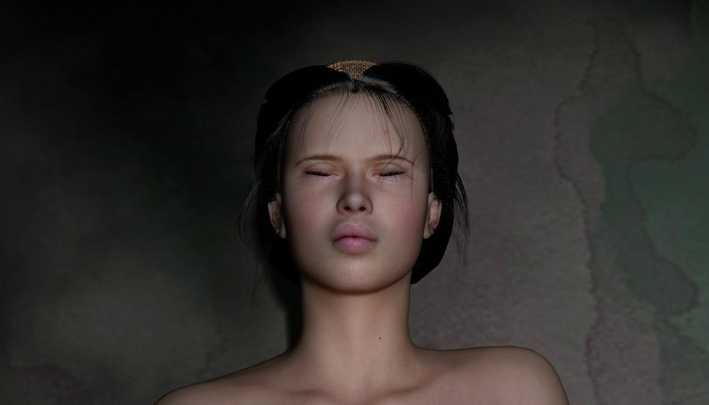 Portrait, Artemisia dell'Arte auf der Aachener Kunstroute 2017 in der Galerie Frutti dell'Arte und in der Aula Carolina