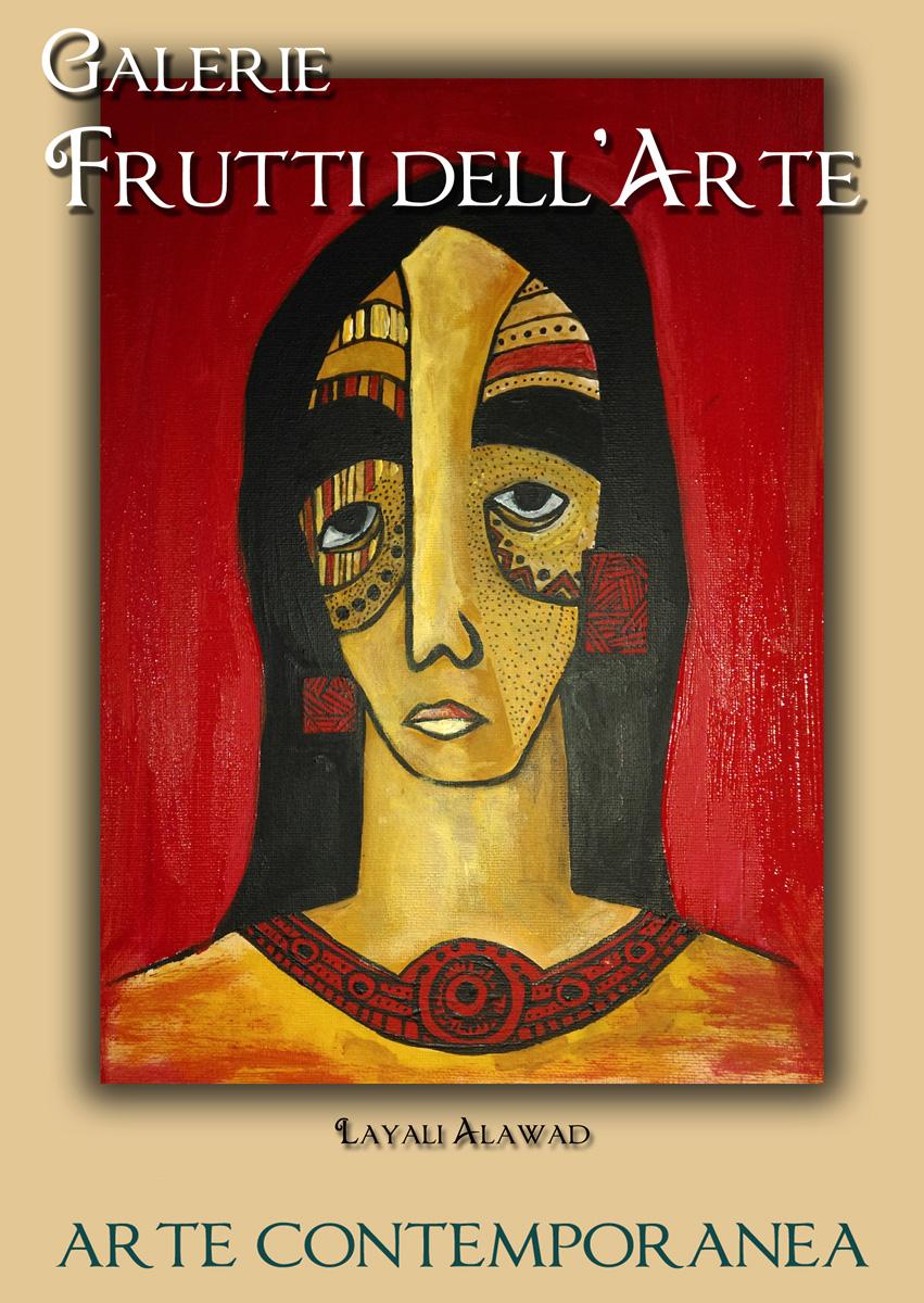 Plakat fünf, Layali Alawad auf der Aachener Kunstroute 2016
