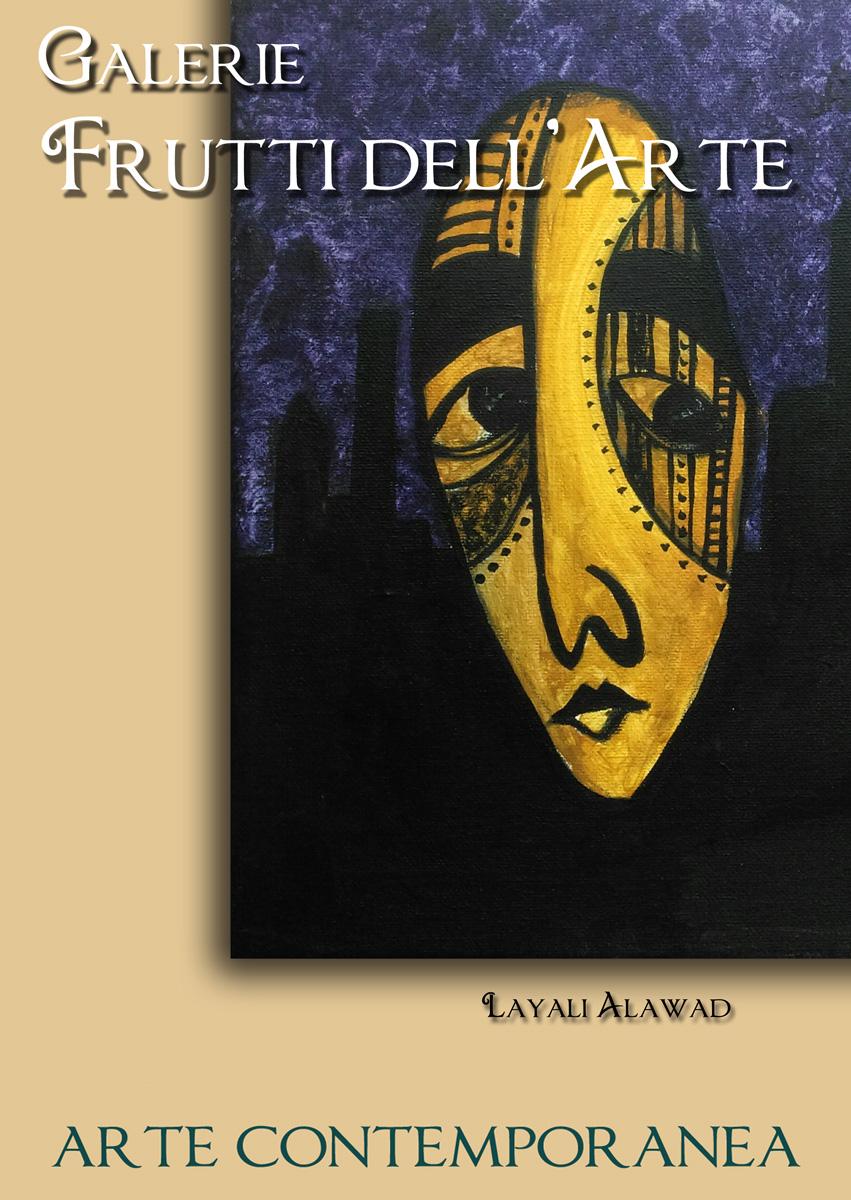 Plakat drei, Layali Alawad auf der Aachener Kunstroute 2016